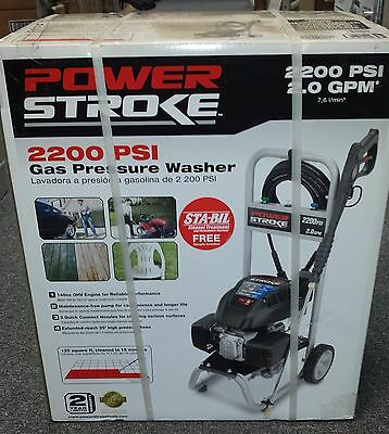 PowerStroke PS80516B Gas Pressure Washer 2200 Psi 140cc