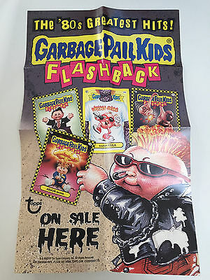 2010 USA Garbage Pail Kids FLASHBACK 1 Hobby BOX Poster On Sale Here - FB1