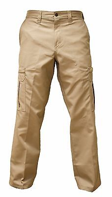 Dickies Men's Cargo Pants, Industrial Relaxed Fit Khaki 2112372KH