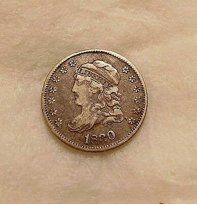 1830 Capped Bust Half Dime - Very Nice Looking Coin
