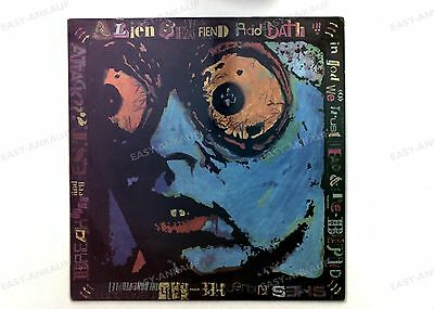 Alien Sex Fiend - Acid Bath UK LP 1984  2 great condition.