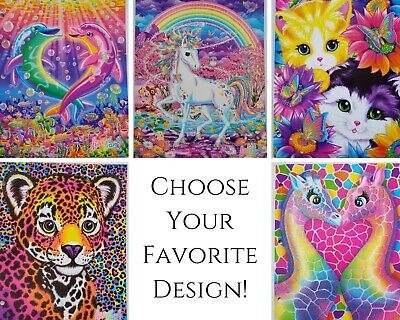 Lisa Frank Retro 2-Pocket Glitter Folder YOU PICK ~ Multiship discount