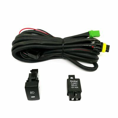 Relay Wiring Harness Switch H11 For Honda Civic 2016 Add-On Fog Light DRL Wire