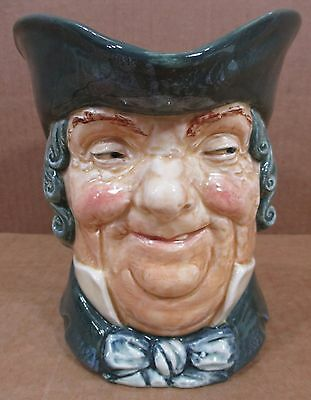 "Royal Doulton Large Toby Jug/Mug Character ""Parson Brown"" A Mark Made In England"