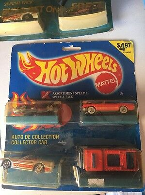 1990 Release Kmart Hit Wheels Special 4 Pack Ultra Hots Camaro Mustang