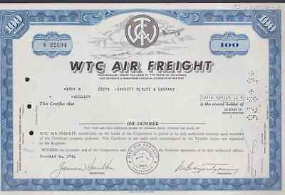 Wtc Air Freight * Stock Certificate *