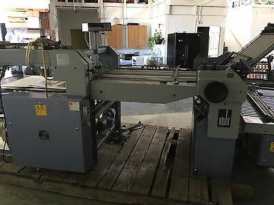 Stahl GMBH & Co Pile Fed Folder W/(2) Right Angle * Must Sell * We are Moving *