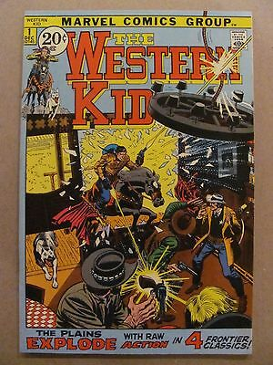 The Western Kid #1 Marvel Comics 1971 Series Romita Art