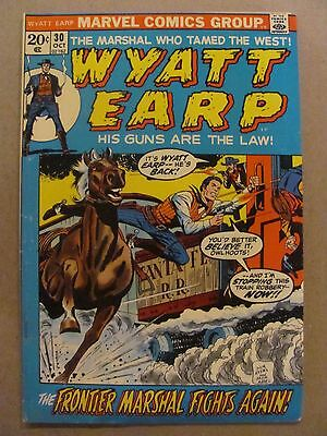 Wyatt Earp #30 Marvel Comics 1972