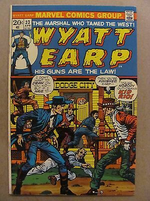 Wyatt Earp #33 Marvel Comics 1972
