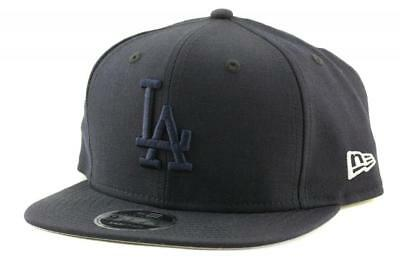 Los Angeles Dodgers New Era MLB Team 9Fifty Hat Genuine Baseball Cap In Navy