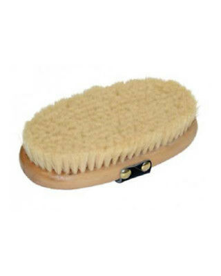 Goat Hair Brush with Leather Handle