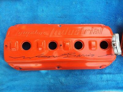 1956 Chrysler 354 Industrial HEMI engine SIGNED BY GEORGE BARRIS!!!
