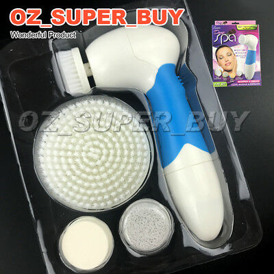 4 in 1 Deep Spa Electric Wash Face Machine Cleaner  Massager Skin Care AU STOCK
