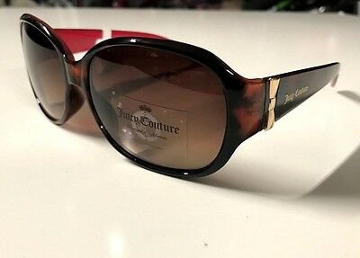 NWT Juicy Couture Womens' Designer Sunglasses Girls' Eyewear Tortoise Free Ship