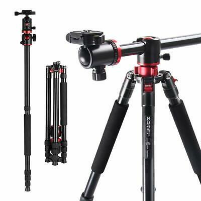 Professional Transverse Camera Tripod Monopod Ballhead stand for Digital Camera