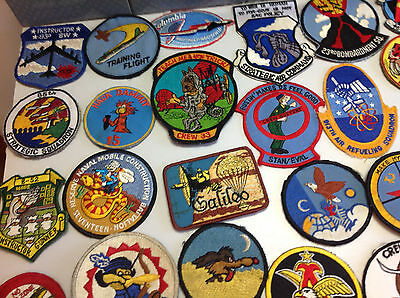 Collection of USAF 1980s Bomber, Air Refuelers Squadron Patches