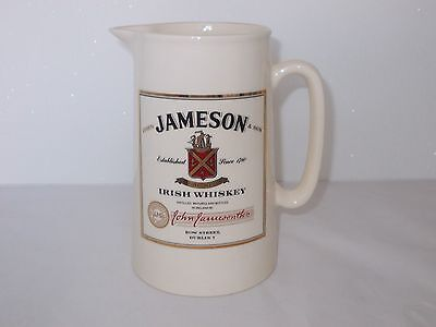 Jamesons Irish Whiskey Water Jug