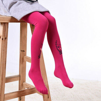 Lovely Elastic Children Girls Baby Kids Stocking Pantyhose Dancing Socks Warm