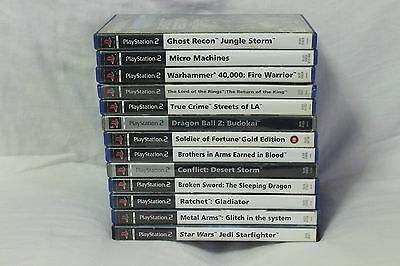 Playstation 2 PAL PS2 Video Game 13 Lot