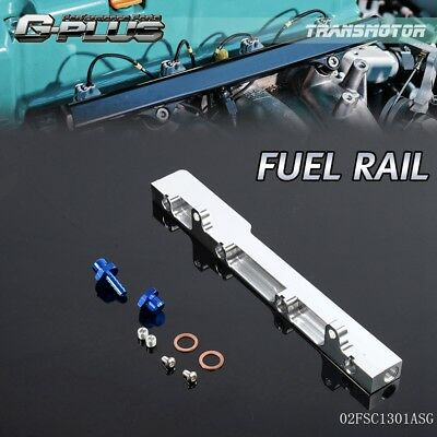 UK High Flow Fuel Rail Kit For HONDA Civic Crx Del Sol D15 D15A D16 D16A SOHC