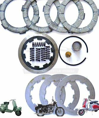 Lambretta Hard Compound 4 Plate Clutch Kit &fittings Li Sx Tv Gp  @au