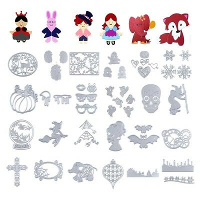 Metal Cutting Dies Stencil Crafts Scrapbooking Embossing Album Paper Card Craft