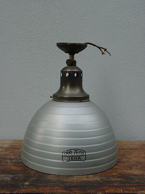 Laden-Lampe, Carl Zeiss Jena, Loft etc., Original um 1910