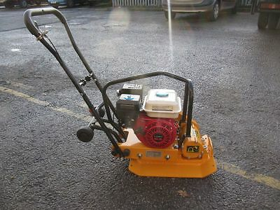 New Mattis Compactor Plate. 6.5hp Petrol Engine Wacker Plate & foldable handle