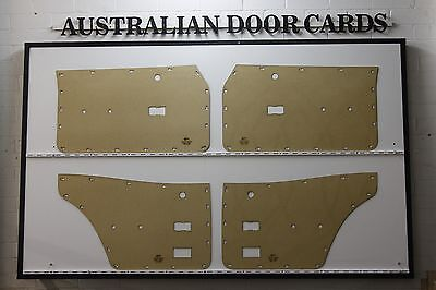 Ford TC, TD MK3 Cortina Sedan, Wagon Door Cards. Blank Trim Panels