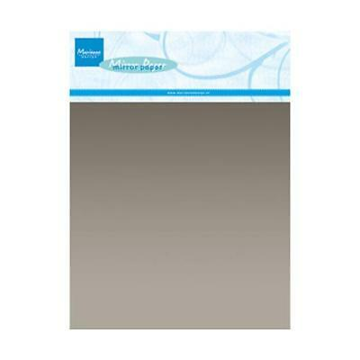 Marianne Design A5 Mirror Papers - 5pcs Silver CA3135