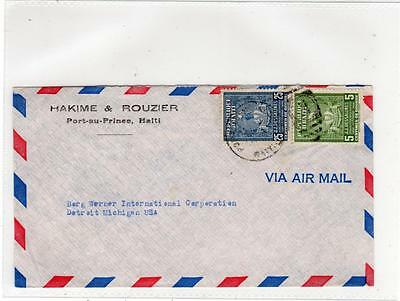 HAITI: 1949 cover to USA (C29254)