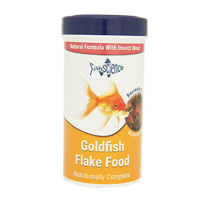 Fish Science Goldfish Flake Food 50g Coldwater Aquarium Natural Insect Meal