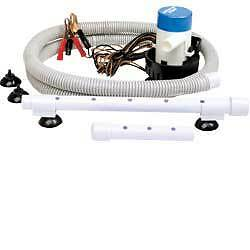 New Boat Marine Livewell  Aerator Bait Pump Kit for Cooler or Bucket