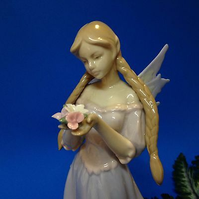23cm Tall - Fine Porcelain FAIRY Figurine Ornament - Attributed to Walino