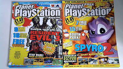 Planet Playstation Magazines July & August 1999