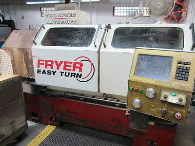Fryer Easy Turn 18 CNC/Tool Room Lathe, Touch 2000 Control