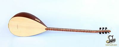 Turkish Professional Long Neck Mahogany Baglama Saz For Sale Osl-201