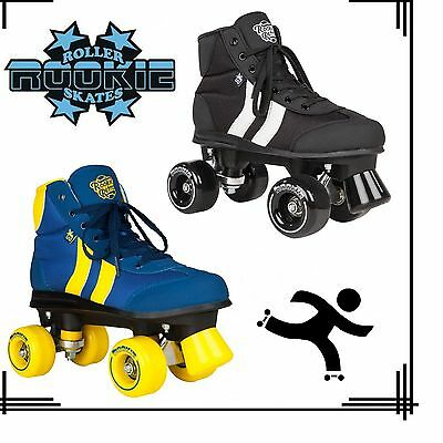 Rookie Retro V2.1 Roller Skates Kids Mens Adults Junior UK Unisex Black rrp £75