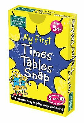 My First Times Table Snap + Pairs Card Game - BrainBox - KS1 Maths Learning