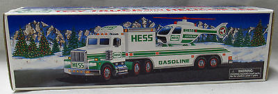 Hess Toy Trucks Vehicles 1995 Toy Truck and Helicopter New In Box