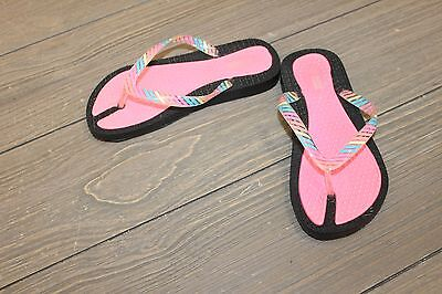 6baff91bc208 WAVE ZONE TWO Tone Girls  Rainbow Sandals Size 12 13 -  12.00