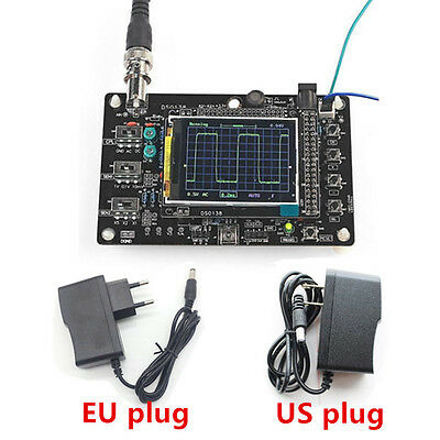 "DSO138 2.4"" TFT Digital Oscilloscope Kit DIY Parts ( 1Msps ) with Probe STM32"