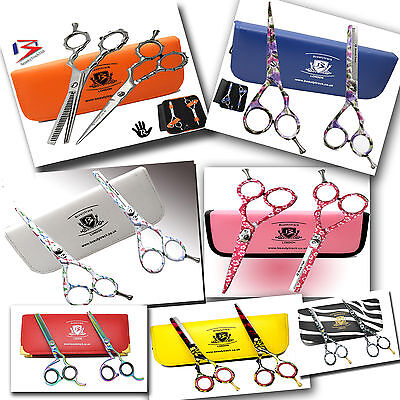 Hair Cutting Thinning Shears Scissors Set Hairdressing Salon Professional-Barber
