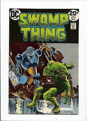 Swamp Thing #6 VF-  7.5 Bernie Wrightson cover and art