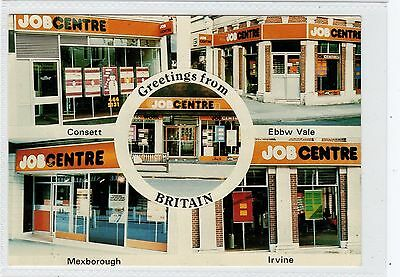 GREETINGS FROM BRITAIN: 1980s political postcard (C28991)