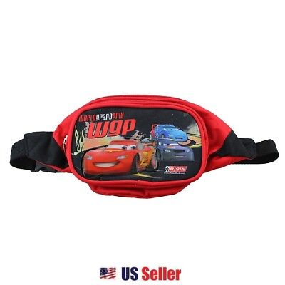 Disney Cars Fanny Pack Double Compartment Belt Bag