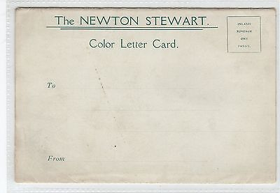 The NEWTON STEWART Color Letter Card (C29149)
