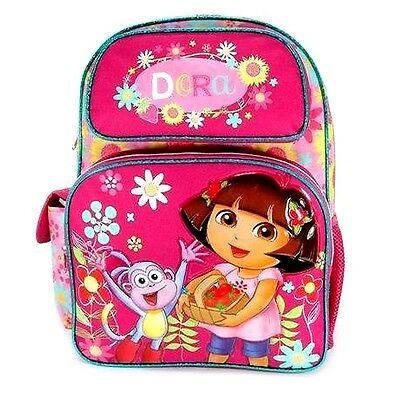 "Dora the Explorer 16"" Large School Backpack : Sunflower"