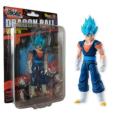 Bandai Dragon Ball Z Shodo 5 Super Saiyan God Vegetto Action Figure NEW In Stock
